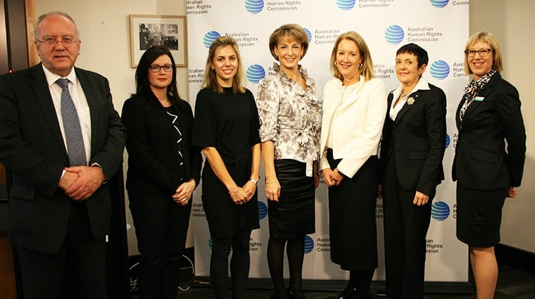 Panel from the launch of Supporting Working Parents