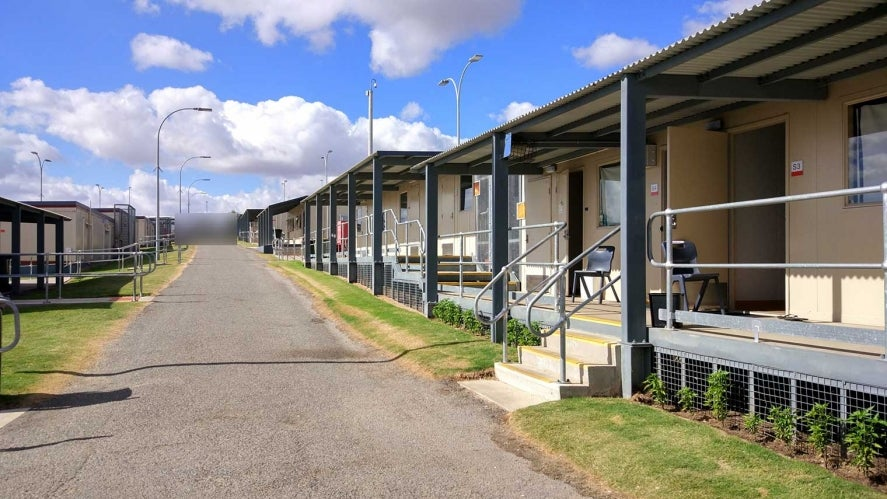 A photo of Yonga Hill Immigration Detention Centre