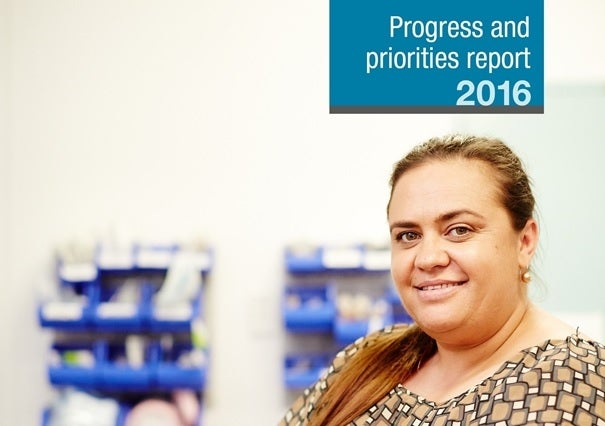 Close the Gap Progress and Priorities Report 2016