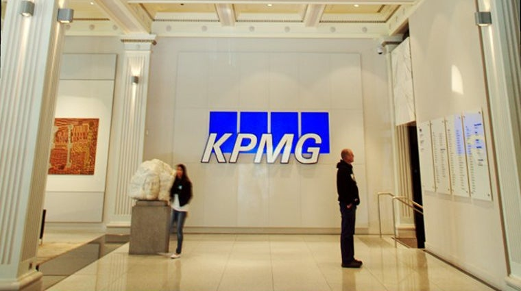 Interior of KPMG building