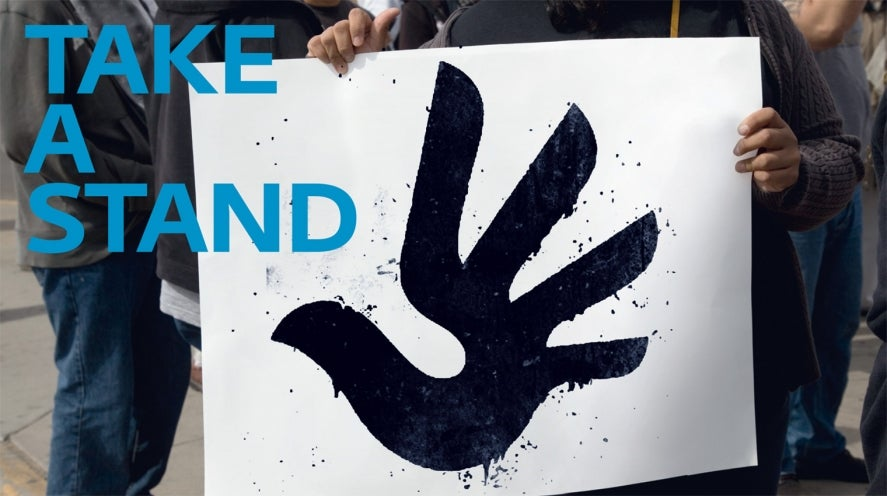 Take a Stand - RightsApp logo