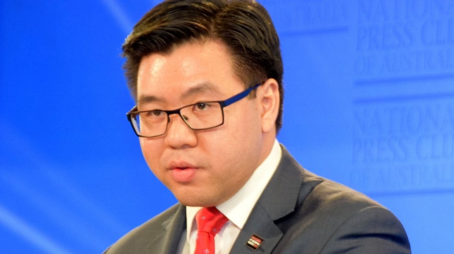 Tim Soutphommasane at the National Press Club