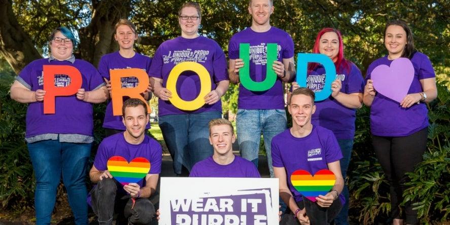 Wear it Purple group shot