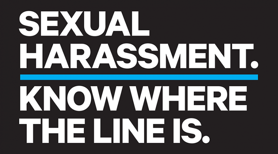 Sexual Harassment. Know Where the Line Is.