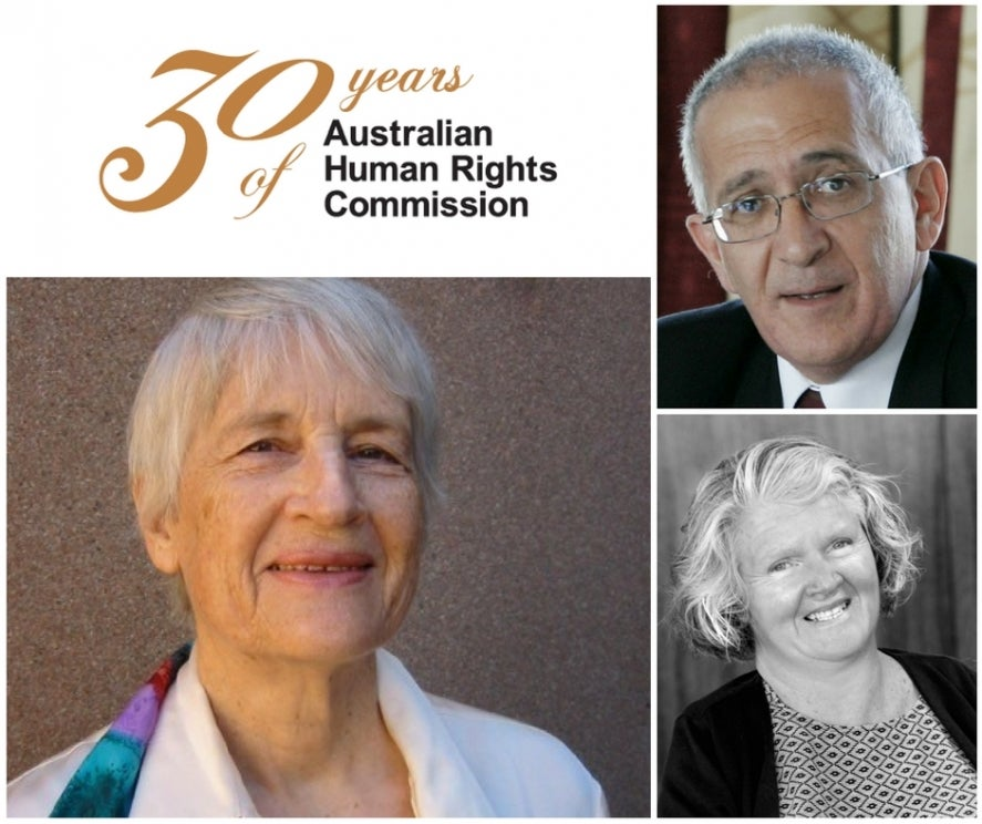 Dr Elizabeth Evatt, Mr Chris Sidoti, Ms Rosemary Kayess