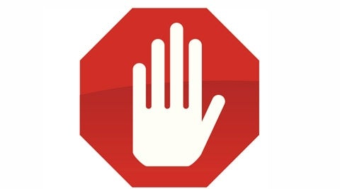 Sign: Stop hand