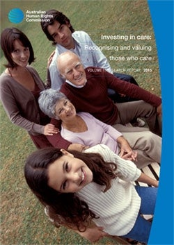 Investing in care: Recognising and valuing those who care
