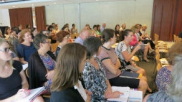 """Audience at the APS Human Rights Network event, """"How the public service can champion child rights"""""""