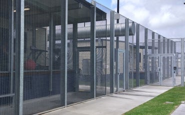 fence at Brisbane Immigration Transit Accommodation (BITA)