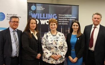Panel of employers with Susan Ryan AO