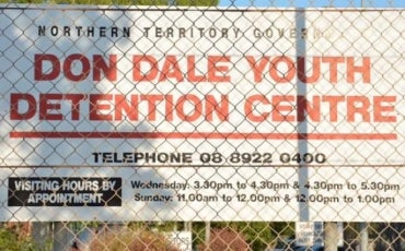 Don Dale centre sign