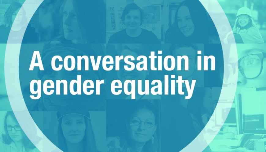 A conversation in gender equality