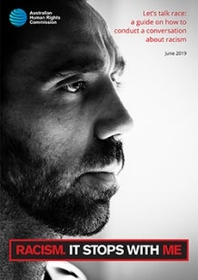 Let's talk race: Adam Goodes on the cover of new guide