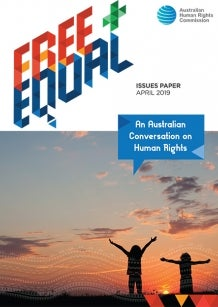 Free and Equal 2019 - An Australian Conversation on Human Rights