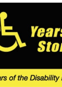 Logo: Twenty Years: Twenty Stories - celebrating 20 Years of the Disability Discrimination Act