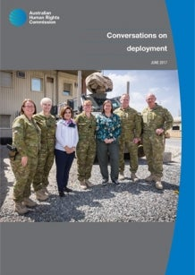 Conversations on Deployment publication cover