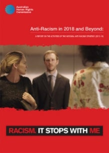 Cover - Anti-Racism in 2018 and Beyond