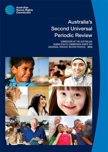Cover - Australia's Second Universal Periodic Review