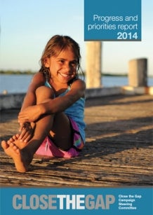 Cover - Close the Gap Progress and priorities report 2014