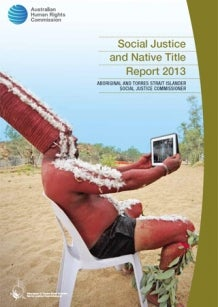 Cover - Social Justice and Native Title Report 2013