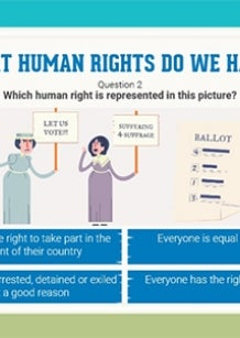 image from 2016 quiz - what human rights do I have?