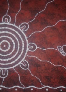 Aboriginal art  - Coming Home (c) Beverley Grant
