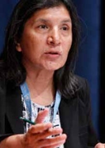 Rashida Manjoo - UN Special Rapporteur on violence against women