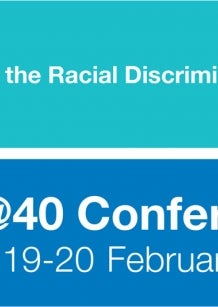 40 years of the Racial Discrimination Act - RDA @40 Conference. Sydney 19-20 February 2015