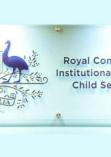 Logo: Australian Government coat of arms, Royal Commission into Institutional Responses to Child Sexual Abuse
