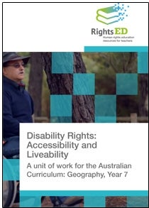 Disability Rights, Accessibility and Liveability